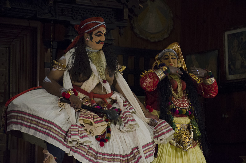 Kathakali dance performance, Kochi, India