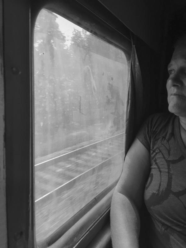 second class train Trivandrum to Kottakyam, India