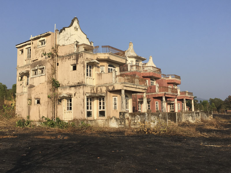 Abandoned Hotel near Agonda Beach