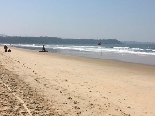 The quiet side of Betul Beach, Goa, India