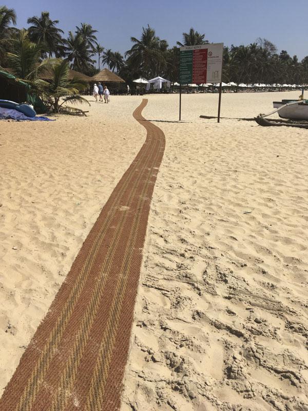 The Red Carpet at Betul Beach, Goa, India