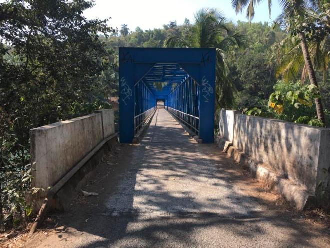 Sadolxem Bridge, Goa, India