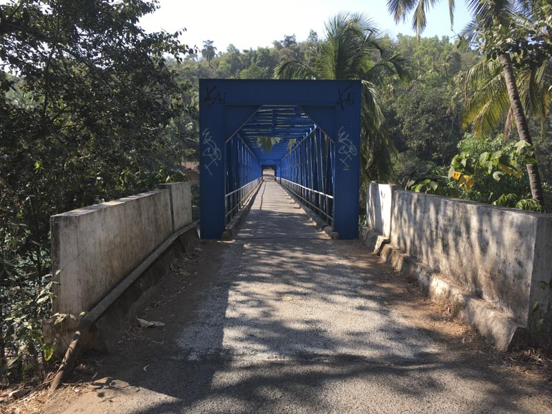 Sadolxem Bridge, Goa, India