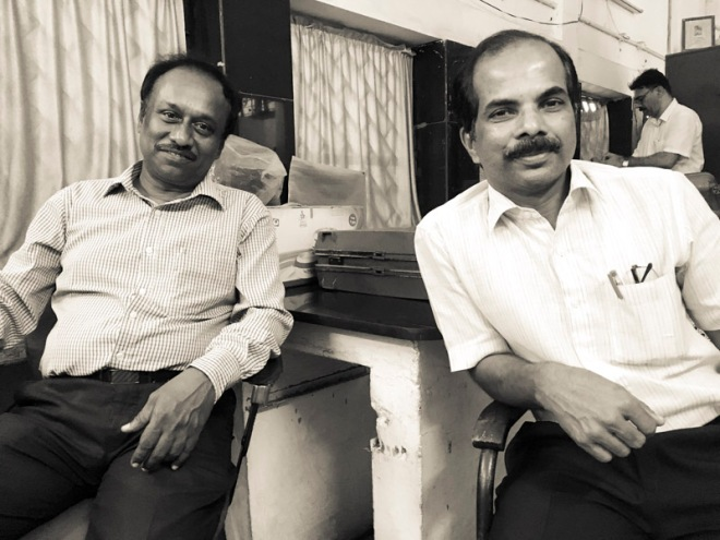 IndiaRailways conductors who safe guarded my sketching gear