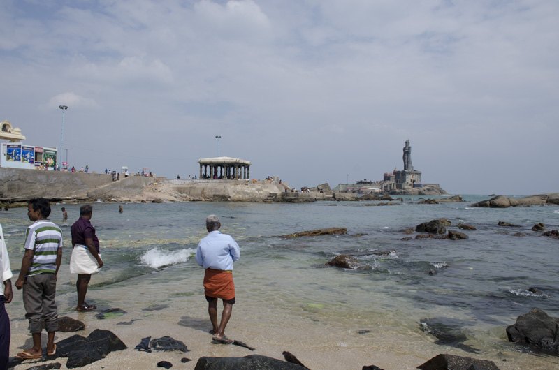 The South Tip of India, Cape Cormorin, Kanyakumari, Indian
