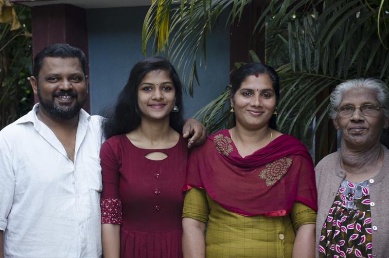 hosts at Green Periyar Homestay
