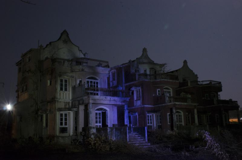 deserted hotel, Agonda, India