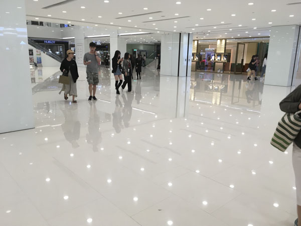 Shopping Mall in Kowloon