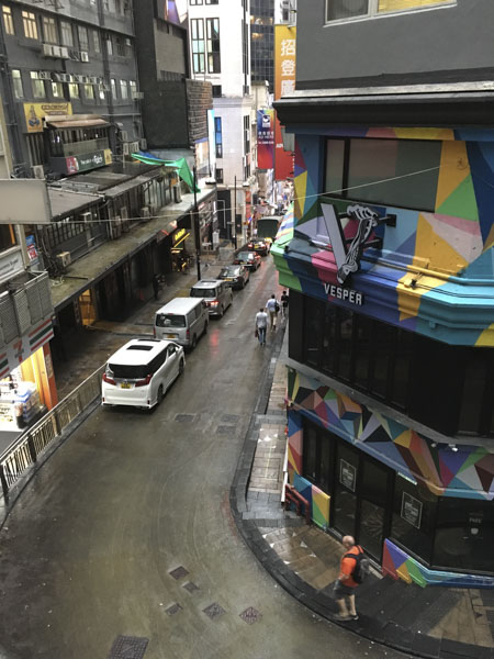 LKF neighbourhood Hong Kong