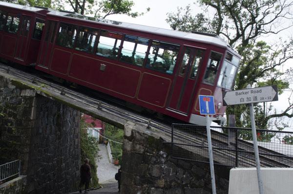 Victoria Peak tram car